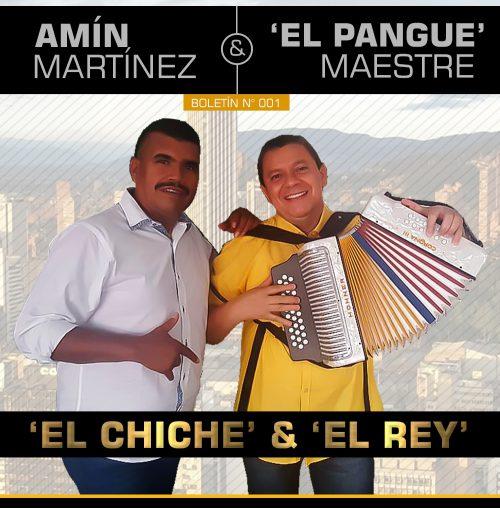 """Nueva unión del vallenato: """"El Chiche"""" y elRey"""