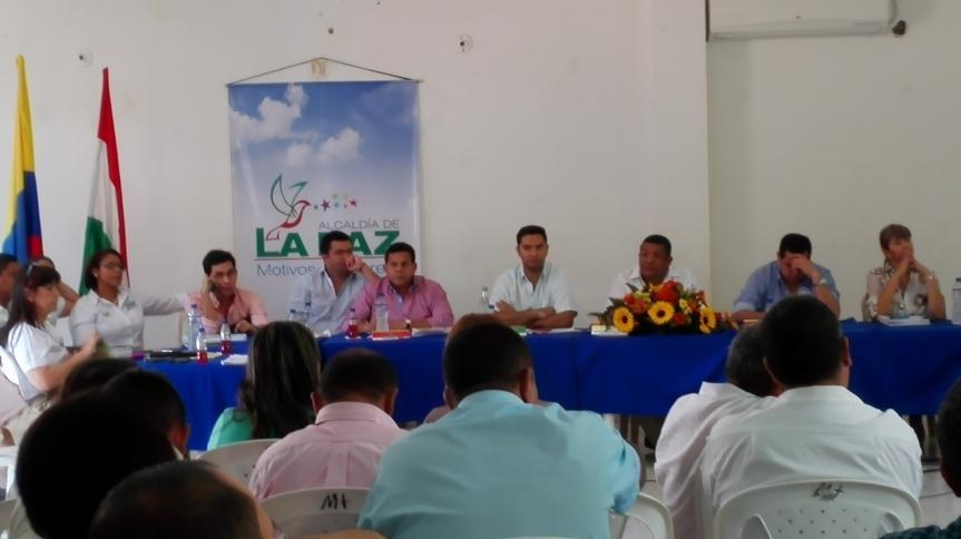 Asamblea del Cesar socializó Plan de Desarrollo en LaPaz