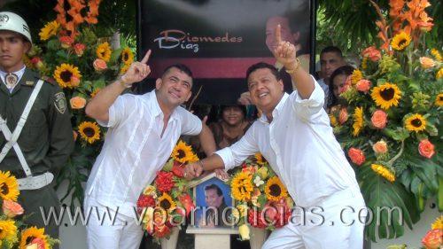 En natalicio de Diomedes, Rafael Santos anuncia unión con IvánZuleta