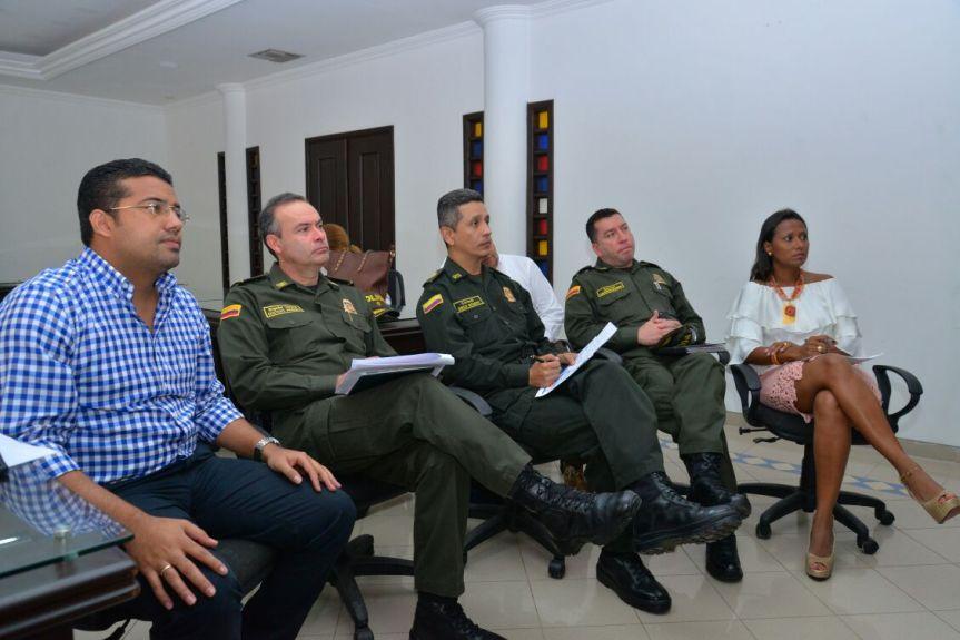 Por petición del Alcalde llegó a Valledupar 1er contingente de la Unipol para combatirinseguridad