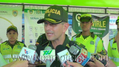 Ante atracos, robos y homicidios, Policía Cesar invita a ciudadanos adenunciar