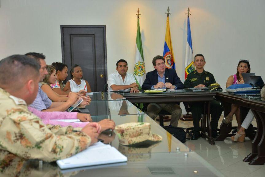 Con Alto Consejero Presidencial continúa diseño del Plan Integral de Seguridad paraValledupar