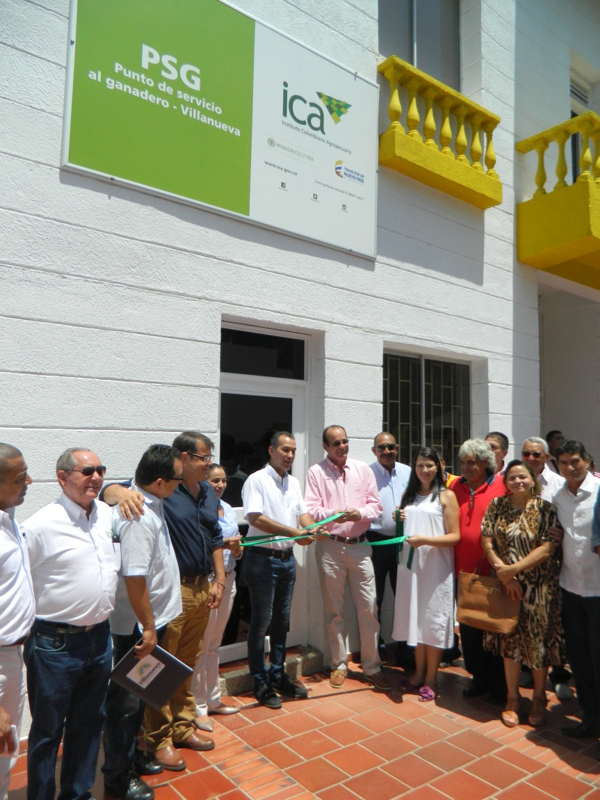 Fue inaugurado Punto de Servicio al Ganadero en Villanueva, LaGuajira