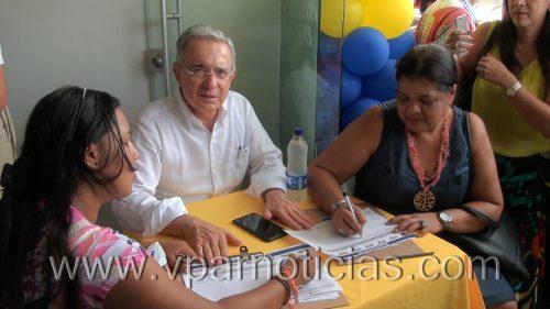 """""""Este es un proceso al revés"""":Uribe"""