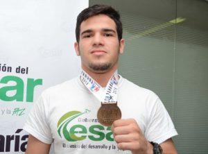 medalla oro judo Ankangel Barbosa García