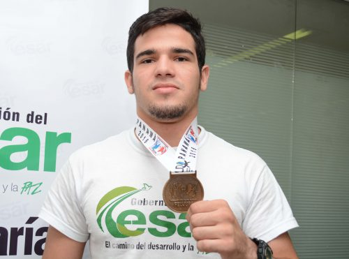 Deportista cesarense medalla de  oro en Mundial deJudo