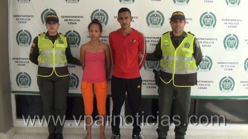 Policía  capturó a dosdelincuentes