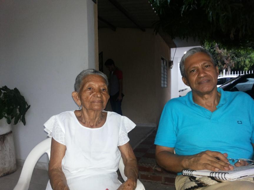 Rita Graciela, hija del juglar FortunatoFernández