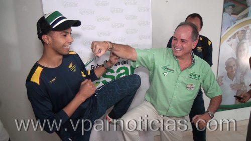 Óscar Muñoz se prepara en Valledupar para los Olímpicos de Río deJaneiro