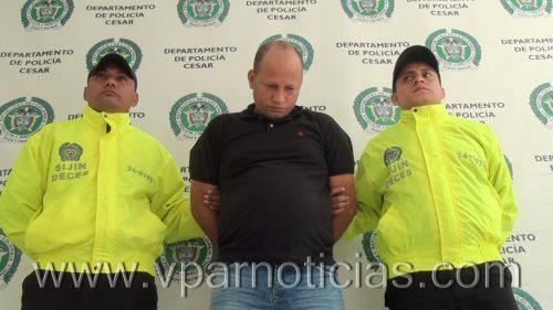 """Capturado en Curumaní  alias """"Chuma"""", presunto integrante de la red de apoyo al terrorismo delELN"""