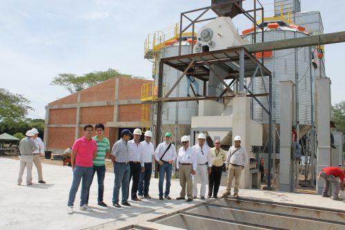 Avanza etapa final de la Planta de secamiento y almacenamiento de arroz en elCesar