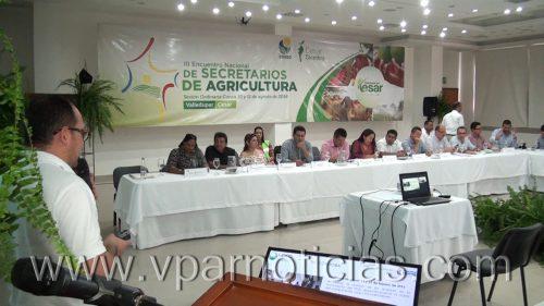Tercer Consejo Nacional de Secretarios deAgricultura