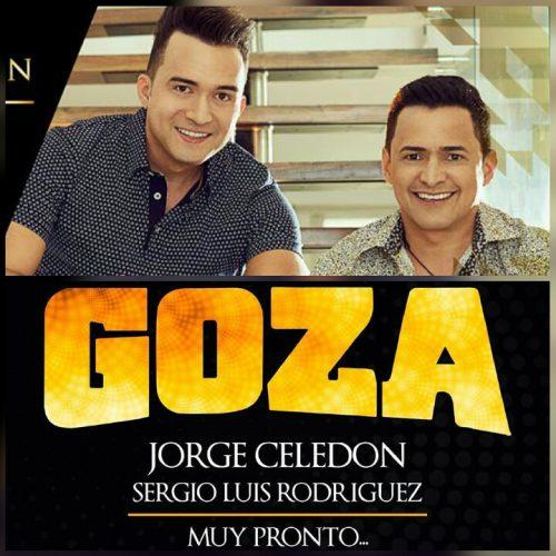 'Goza' el primer sencillo de Jorge Celedón y Sergio LuísRodríguez