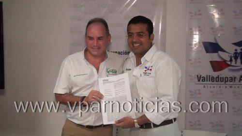 Gobernador del Cesar y Alcalde de Valledupar anunciaron inversiones por $ 60 mil millones para elmunicipio