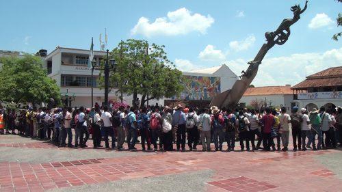 Los Yukpas reclaman al gobierno nacional consulta previa para la zona veredal y delimitación de su territorioancestral