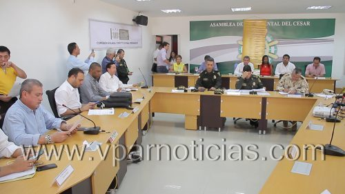 La Comisión Segunda de la Cámara de Representantes sesionó en Valledupar para debatir acerca de seguridadciudadana