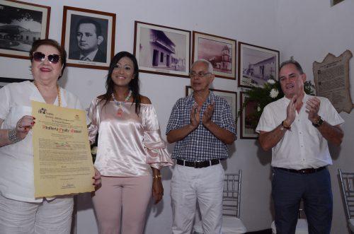 Academia de Historia del Cesar, hizo reconocimiento al ex Gobernador Adalberto OvalleMuñoz