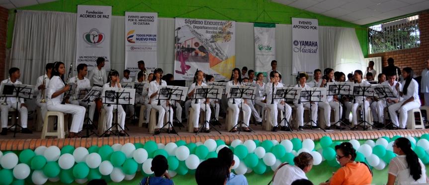 VII Encuentro Departamental de Bandas Musicales delCesar