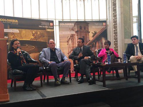 Cesarenses con inversionistas extranjeros en WorkShop enEspaña