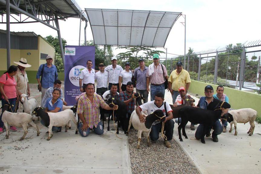 Entrega en el Cesar de insumos y equipos para dos líneas de acción: Ovina y Pesca yPiscicultura