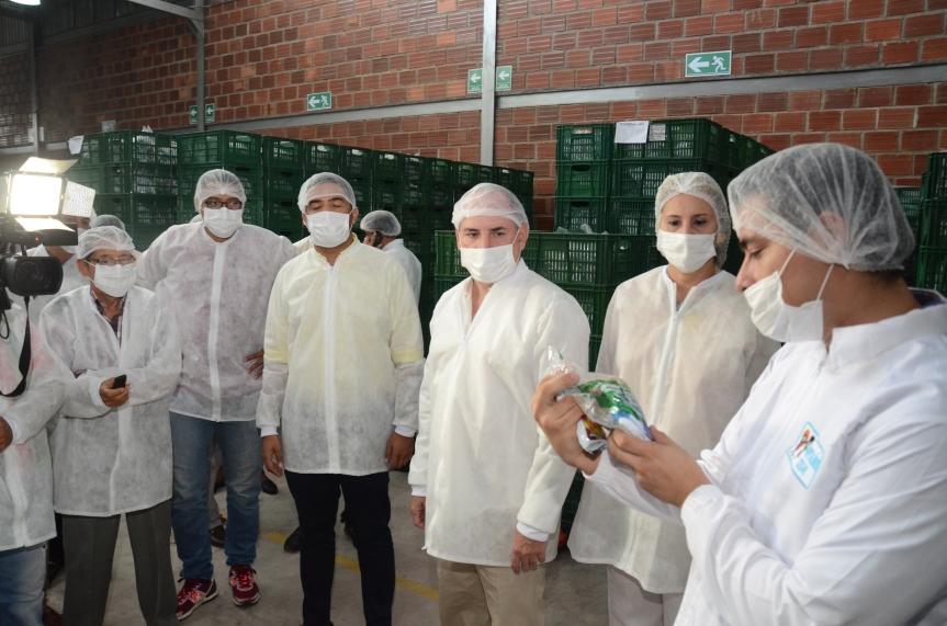 Gobernador del Cesar verificó programa de alimentación escolarPAE