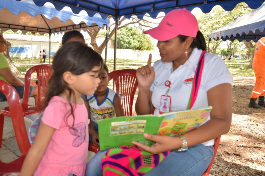 Comfacesar promueve el hábito de la lectura entre niños yjóvenes