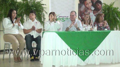 Gobernador del Cesar  en el inicio de la Semana de laDiscapacidad