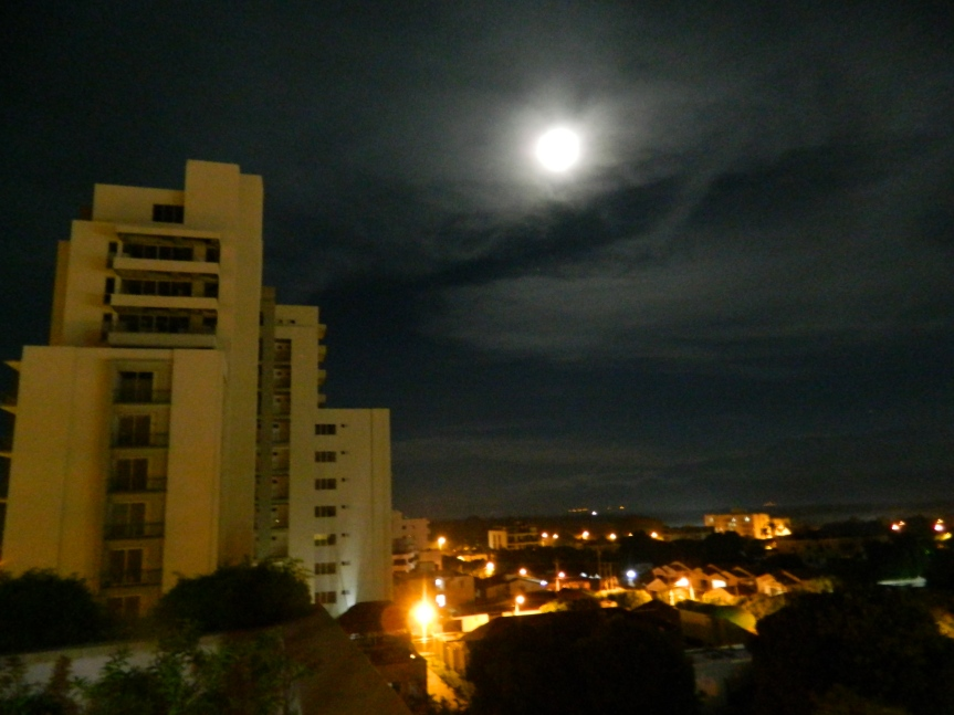 La Superluna en Valledupar