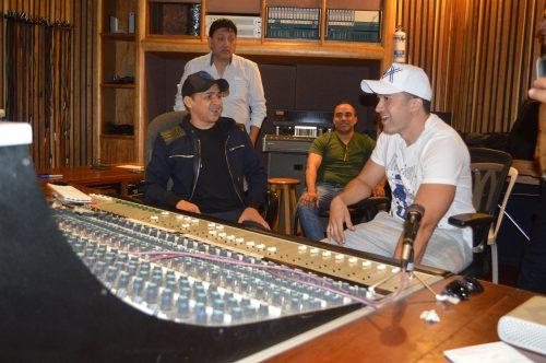 Jorge Celedón y Sergio Luis Rodríguez iniciaron grabación de álbummusical