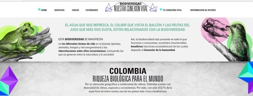 """Exposición y conferencia """"Biodiversidad: nuestra conexiónvital"""""""