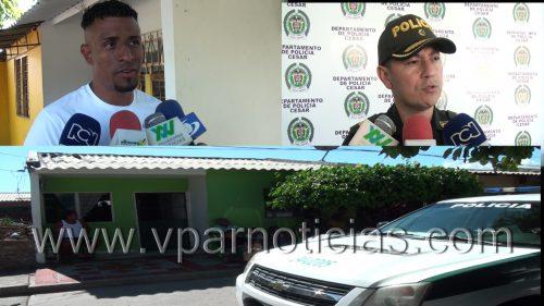 El futbolista Farid Díaz fue atracado enValledupar