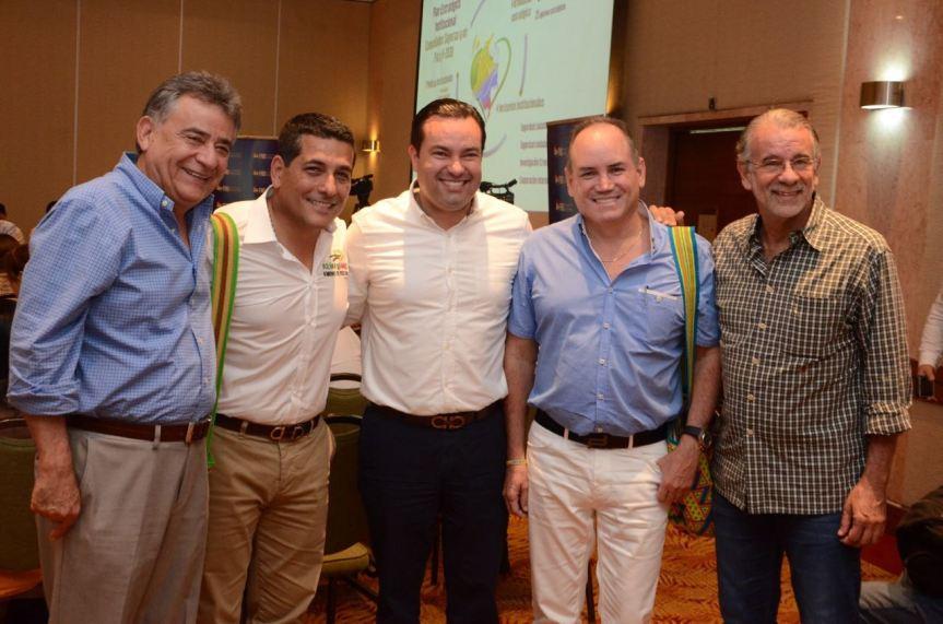 Gobernador del Cesar elegido representante de la Región Caribe en el Consejo Directivo de la Federación Nacional deDepartamentos