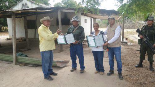 Víctima de alias Tolemaida retornó a su parcela en el municipio de Becerril,Cesar