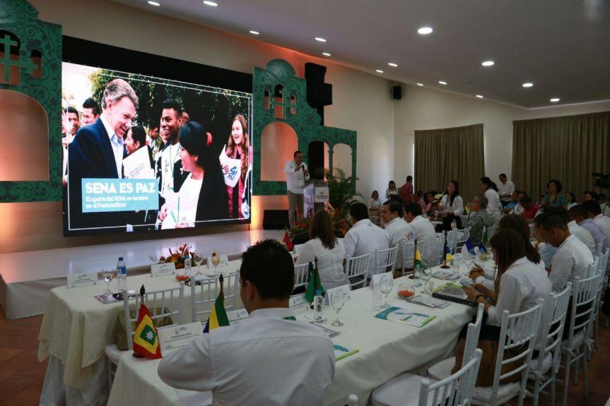 El Sena atenderá a más de 7 mil desmovilizados en Zonas Veredales Transitorias deNormalización