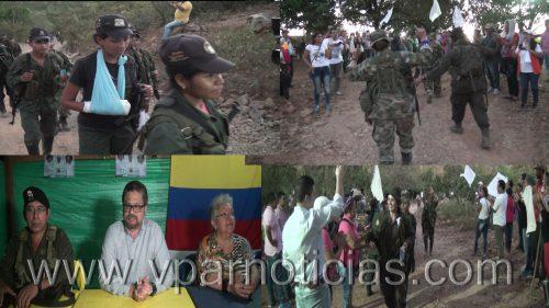 Recibidos integrantes del  19 frente de las Farc en zona veredal en La Paz,Cesar