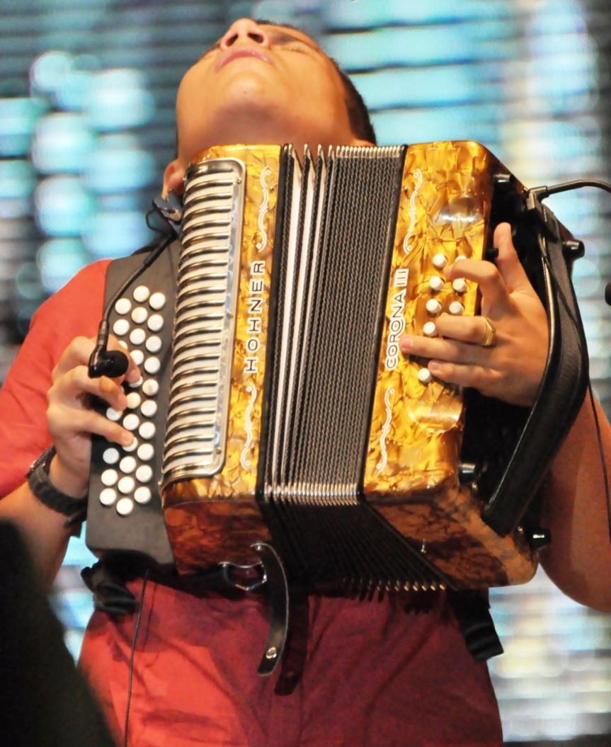 Acordeonero.- Foto Fundación FLV