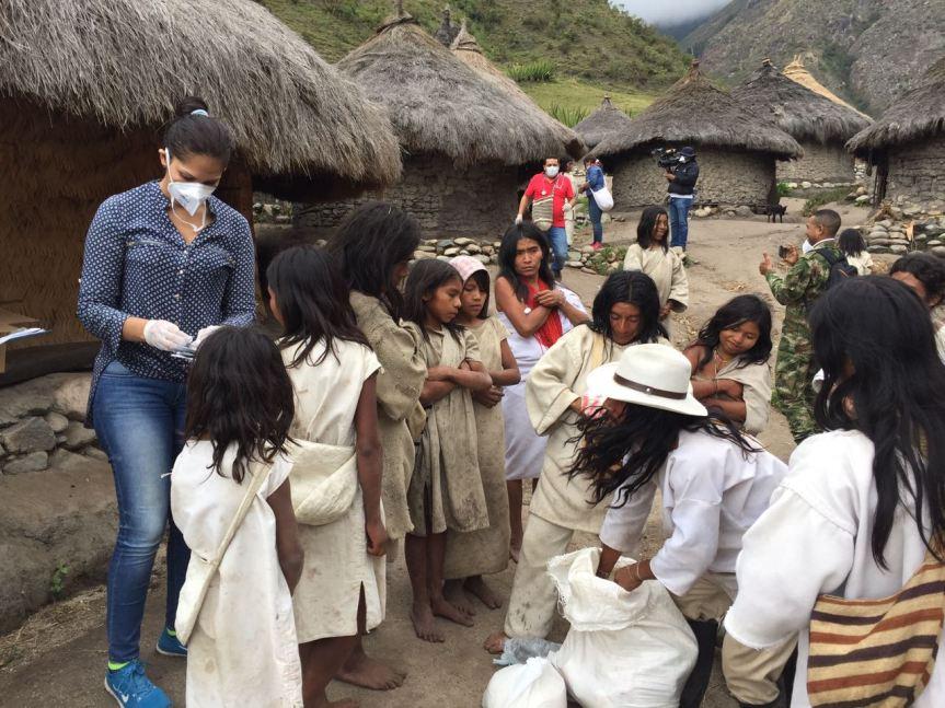 Emergencia de salud en la etniakogui