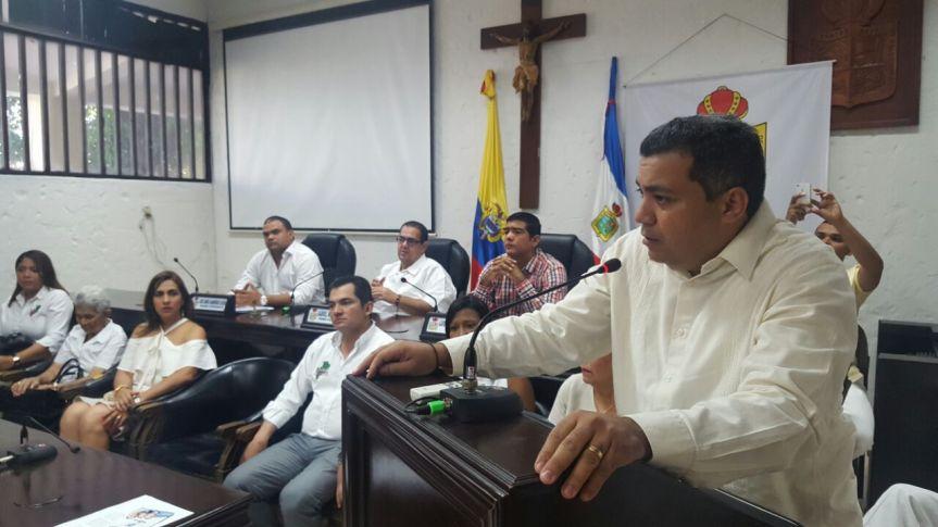 """""""Esperamos una Contraloría eficiente y eficaz"""": presidente del Concejo deValledupar"""