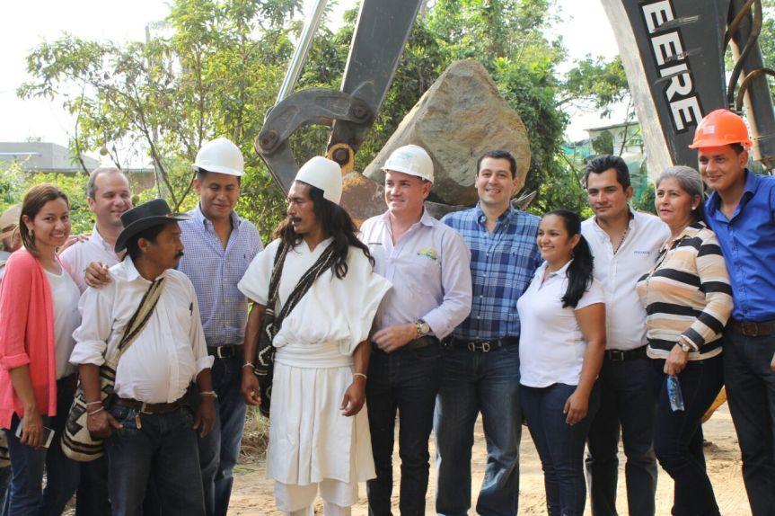 Se inicia pavimentación de 7. 3 kms de la vía Zanjón-PuebloBello