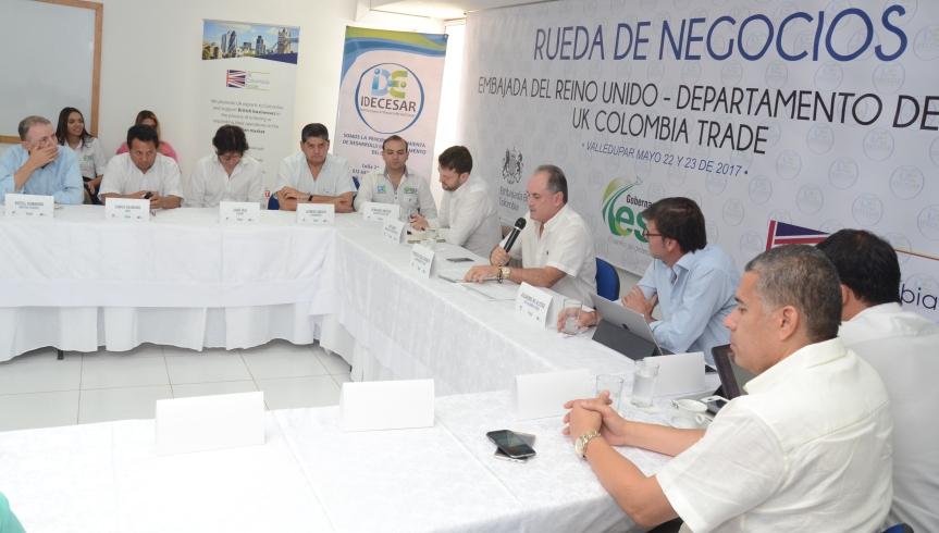 Gobernador Ovalle abrió las puertas a la inversión del ReinoUnido