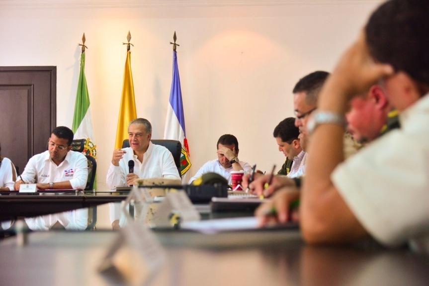 """""""En Valledupar haremos cumplir la ley"""":Vicepresidente"""