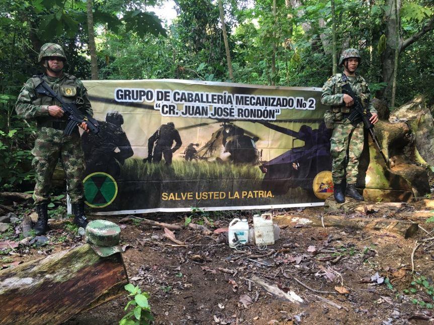 Ejército incautó material explosivo y granadas en LaGuajira