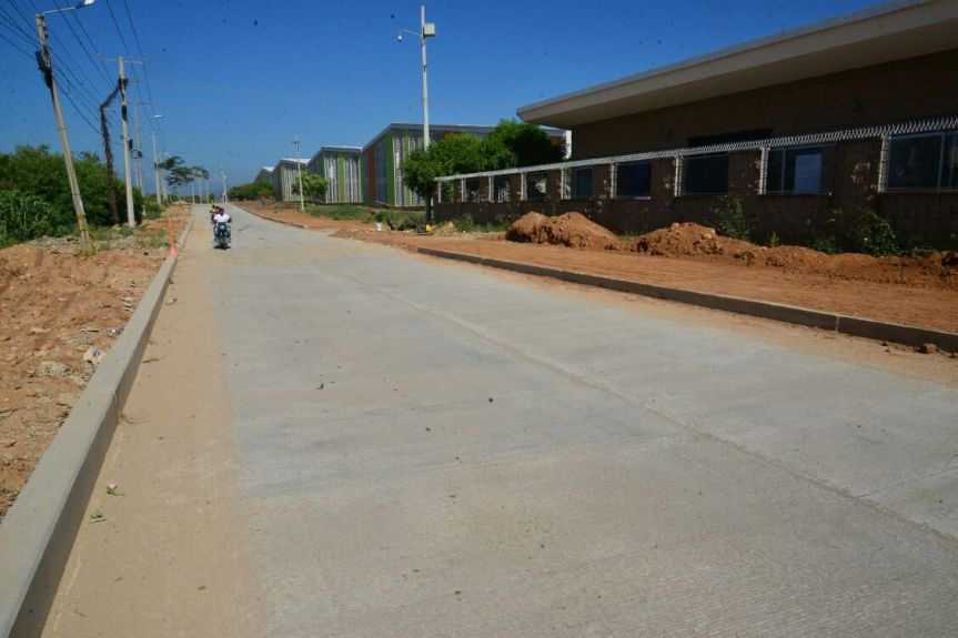 Habilitado tráfico vehicular en avenida Fundación y 450Años