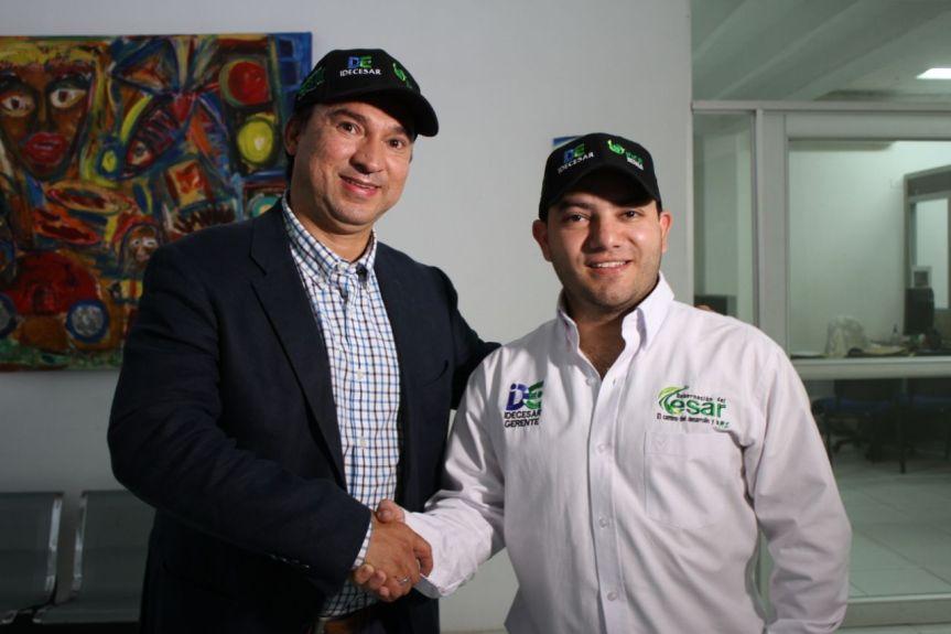 Establecerán convenio entre Gobernación del Cesar, Instituto de Desarrollo de Antioquia- IDEA eIdecesar