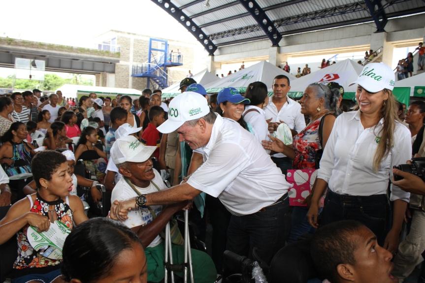 Ruta del Desarrollo y la Paz del gobierno departamental llegó aChiriguaná