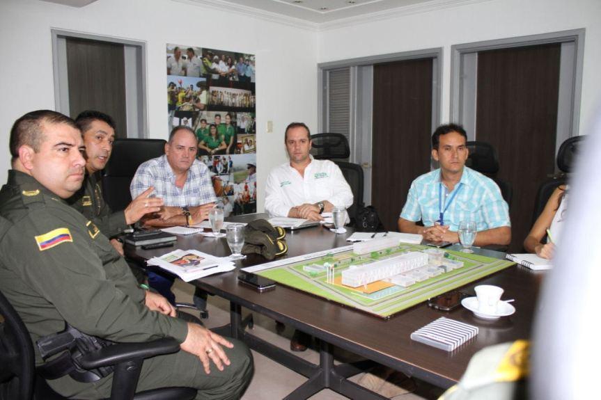 Gobierno Departamental avanza en los estudios y diseños de Estación de Policía Metropolitana deValledupar