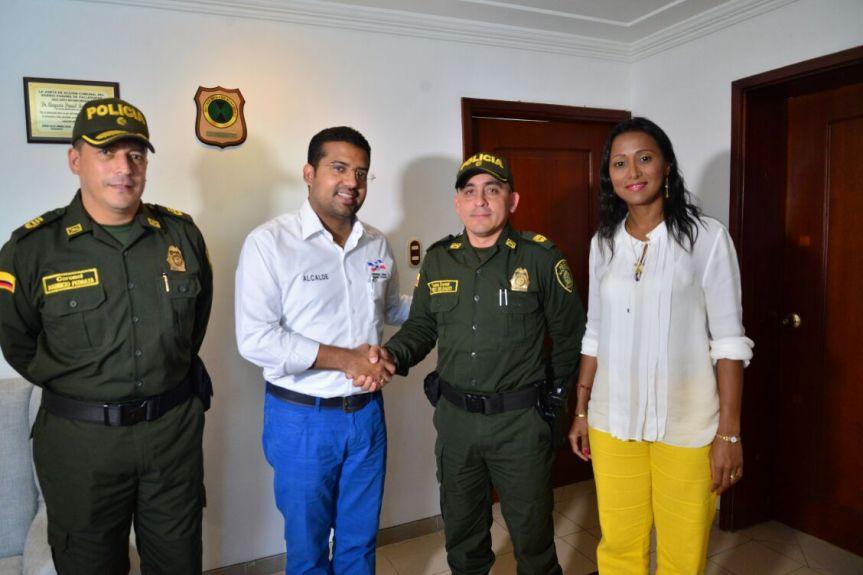 Nuevo comandante para la Estación de Policía deValledupar