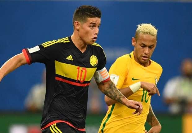 Hoy Colombia vs Brasil en el estadio Metropolitano deBarranquilla