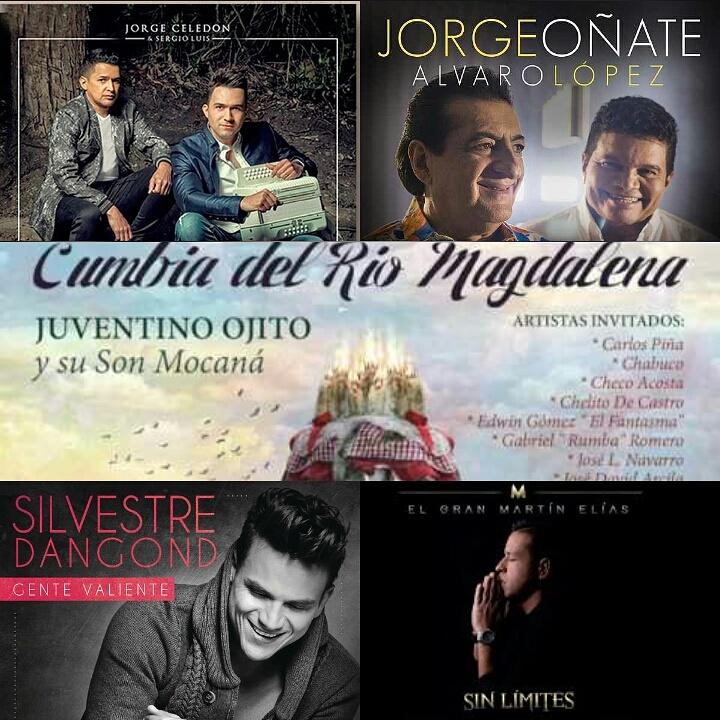 Vallenatos nominados al premio Grammy Latino2017
