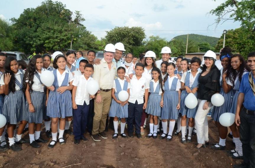 MinEducación y Gobernador Ovalle dieron inicio al Plan de Infraestructura Educativa delCesar